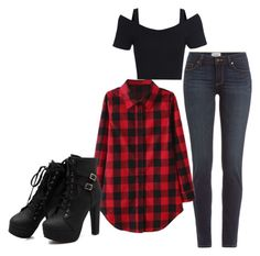 """Untitled #283"" by lean-mean-dean on Polyvore featuring Paige Denim"