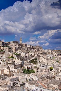 Sassi di Matera by Mirko Macari, via Flickr