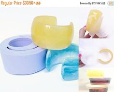 20% OFF Thick Rounded Cuff Bangle Mold by zougeebean on Etsy