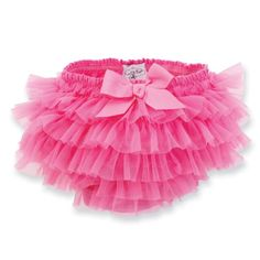 Mud Pie Baby-girls Newborn Chiffon Bloomer, Hot Pink, 0-6 Months Mud Pie http://smile.amazon.com/dp/B006U1GXR2/ref=cm_sw_r_pi_dp_BSNcub1WQ2PR2