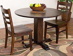 dine room, drop leaf, fe drop, sunni design, leaves, round tables, santa fe, dining tables, leaf tabl