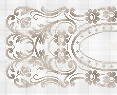 Crochet Stitches Chart, Cross Stitch Charts, Cross Stitch Designs, Crochet Patterns, Crochet Curtains, Crochet Doilies, Fillet Crochet, Mittens Pattern, Free Crochet