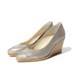 GAIMO Teva Suede Wedge Pumps | Spanish Fashion - SPANISH SHOP ONLINE | Spain @ your fingertips #gaimo #pumps