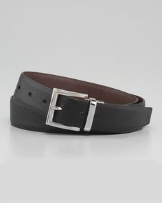 Saffiano Reversible Belt by Prada at Neiman Marcus.
