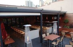 Tanta Now with a new retractable canvas cover, this popular rooftop spot just got better. Chef Jesus Delgado expanded the special outdoor snacks menu with five sections featuring different ceviches, causitas, anticuchos, empanadas, and three new soy-spiked del chifa dishes, along with vegetarian and entrée-size selections. Try the Tanta ceviche with scallops, shrimp, and a creamy rocoto-aji amarillo sauce or the anticuchera causitas with octopus, avocado, quail egg, and piquillo