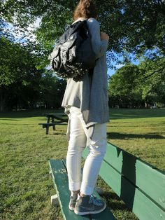 Here is my DIY studded backpack !