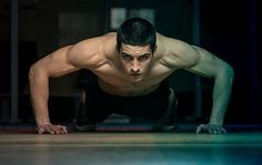 There are more ways to do pushups than just about any other exercise which means your mind and muscles will never get bored. But if you need some inspiration for your arsenal check out these two up-and-down pushup workouts from Mens Health Fitness Dire Men's Health Fitness, Fitness Tips, Fitness Motivation, Body Fitness, Fitness Tracker, Chest Workouts, Gym Workouts, Fitness Exercises, Chest Exercises
