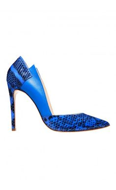 BURAK UYAN Blue Pumps Spring-Summer 2015 Shoes Diseños De Zapatos ff1ea695aa89