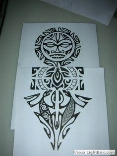 Motif tatouage polynesien et maori (110)