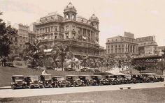 São Paulo - Vale do Anhangabaú - Anos 20