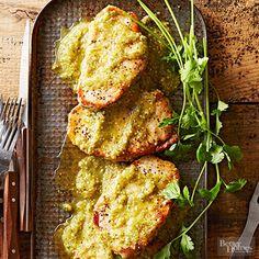 Pork Chops in Salsa Verde