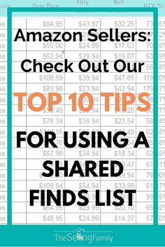 Top 10 Tips For Using A Product Finds List