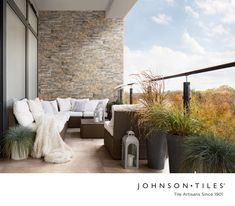 For decades, we have been a trusted partner in helping create the most beautiful South African spaces. We pride ourselves in the design, craft and precision that goes into every tile we make. #tile #tiledesign #interiordesign #design #decor #stonelook #cladding #featurewall Johnson Tiles, Wall Cladding, Wall And Floor Tiles, Glazed Ceramic, Tile Design, Outdoor Furniture, Outdoor Decor, Natural Stones, Patio