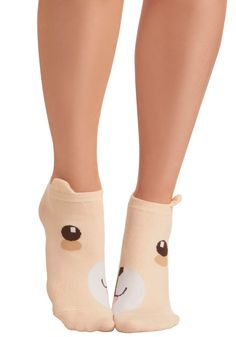 Kindred Soles Socks in Bear - Tan, Brown, White, Top Rated, Knitted