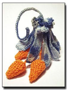 CROCHET PATTERNS (Irish Flower Crochet Pattern #117 Flower Pendant) -Crochet & Knit Design Heaven