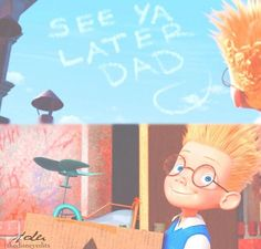 Meet the Robinsons will always be one of my fave childhood movies because I've seen it a 1,000 times and I never get tired of it.