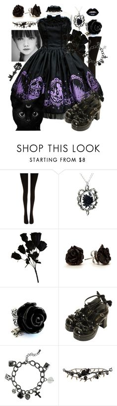 """""""Untitled #287"""" by neverland-is-just-a-dream-away ❤ liked on Polyvore featuring Wolford, Wet Seal, Marc by Marc Jacobs and Forever 21"""