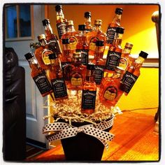 great gift for the groom's family while they get ready! this totally says Pavcek boys all over this