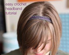 crochet headband by alli_lucy, via Flickr