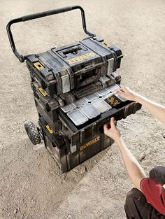 Dewalt DS250 ToughSystem Tool Box Access