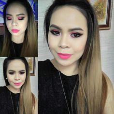 Electrick pink is❤ #morphebrushes35B #makeupoftheday