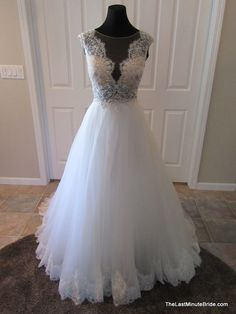 Ella Rosa by Kenneth Winston be324, $699 Size: 16 | New (Un-Altered) Wedding Dresses