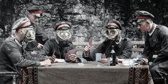 제1차 세계대전 102주년, 생생한 컬러 사진들