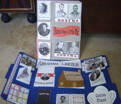 Great Civil War lapbook and other information. Can use to make big books for any history event