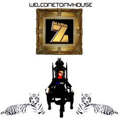 WELCOME TO HOUSE ARTWORK BY MARIO ZARATE