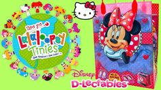 Minnie Mouse GIFT BAG SURPRISES with HELLO KITTY ハローキティ LaLaLoopsy Tinie...