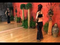 (Instruction) Tribal Fusion Belly Dance with Sharon Kihara 3 (In this section 3, she shows arm and hip movements/drills.)