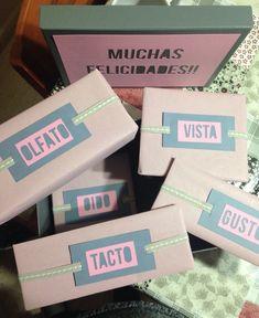 Regalo Especial La Caja De Los 5 Sentidos Surprise BoyfriendGift BoyfriendBf GiftsCraft