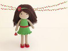Vestido navidad (patrón gratis)