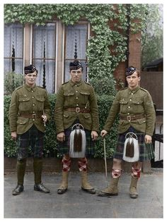 Seaforth Highlanders, First World War