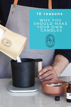 Looking for a new hobby or a fun crafting project to kill time with family and friends? Check out our 10 top reasons that you should be making your own homemade candles and get started now with our luxury candle making kit. Make Your Own, Make It Yourself, How To Make, Candle Making Supplies, Homemade Candles, Candlemaking, Luxury Candles, 10 Top, New Hobbies