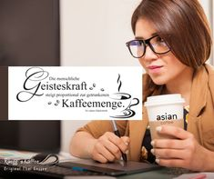 Mit Kaffee richtig fokussieren! www.rueeggs.com #coffeetime #positivevibes #coffeelovers #coffee #motivation #concentration #workefficiently #brainstorming #enjoyyourwork Coffee Time, Positive Vibes, Asian, Motivation, Kaffee, Drinking, Asian Cat, Daily Motivation