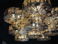 Mirror Disc Pendant Lamp