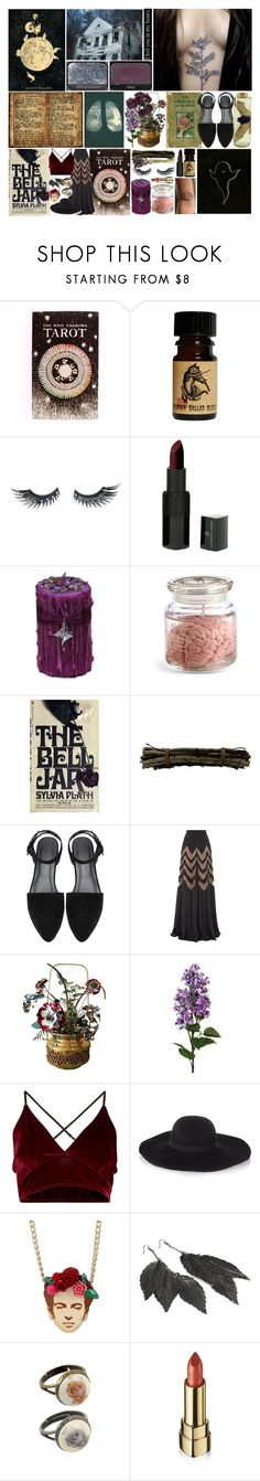 """Untitled #1187"" by buttersugarcreamiiii ❤ liked on Polyvore featuring The Wild Unknown, Napoleon Perdis, NARS Cosmetics, Vincent Longo, PATH, Shea's Wildflower, Temperley London, Mottahedeh, Maison Michel and Friis & Company"