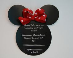 Minnie invite