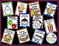 *The Teaching Oasis*: Food Themed Brag Tags Classroom Rewards, Classroom Behavior Management, Preschool Classroom, Kindergarten, Behavior Rewards, Behaviour Management, Behavior Charts, Class Management, Classroom Decor Themes