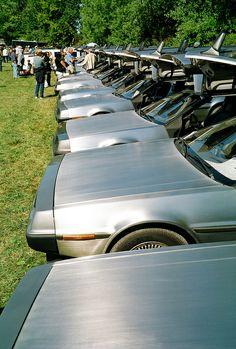 DeLorean most likely arrived on a flatbed Dmc Delorean, Delorean Time Machine, Compare Insurance, Best Insurance, My Dream Car, Dream Cars, Maserati, Bugatti, Dmc Car