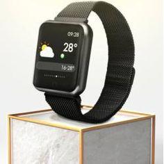 P68 Okosóra Bluetooth, Android, IOS támogatás fekete Oras, Smart Watch, Bluetooth, Android, Watches, Smartwatch, Wristwatches, Clocks