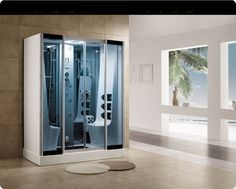 Aquapeutics, the leading supplier of luxury bathroom fittings and utilities is offering in its product range, state-of-the art steam showers to their customers.  #bathroomshower #steamsaunas