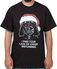 Star Wars Darth Vader Lack Of Cheer Christmas T-Shirt