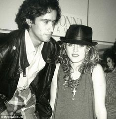 John 'Jellybean' Benitez and Madonna, http://www.dailymail.co.uk/news/article-2402107/Andy-Warhols-intimate-seen-photos-Mick-Jagger-John-Lennon-Madonna-show.html