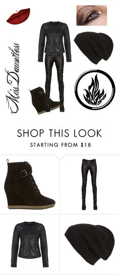 """""""New Dauntless"""" by bambidarling3 on Polyvore featuring Mint Velvet, A.F. Vandevorst, Phase 3 and Anastasia Beverly Hills"""
