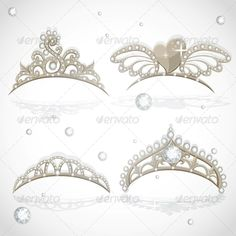 Shining Gold Girls Tiaras with Diamonds  #GraphicRiver         Shining gold girls tiaras with diamonds     Created: 28August13 GraphicsFilesIncluded: JPGImage #VectorEPS Layered: No MinimumAdobeCSVersion: CS Tags: Headdress #celebration #clothes #crown #diamond #diva #element #equipment #expensive #fashion #fun #glitter #greeting #jewelry #jewels #legend #magic #miss #peculiar #prestige #princess #queen #royal #royalty #shape #shining #show #symbol #tiara #vector