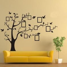 Photo Tree Wall Sticker