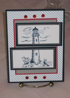 Lighthouse by Kalla Walla - Cards and Paper Crafts at Splitcoaststampers