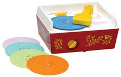 Fisher Price vintage turntable! It's back!